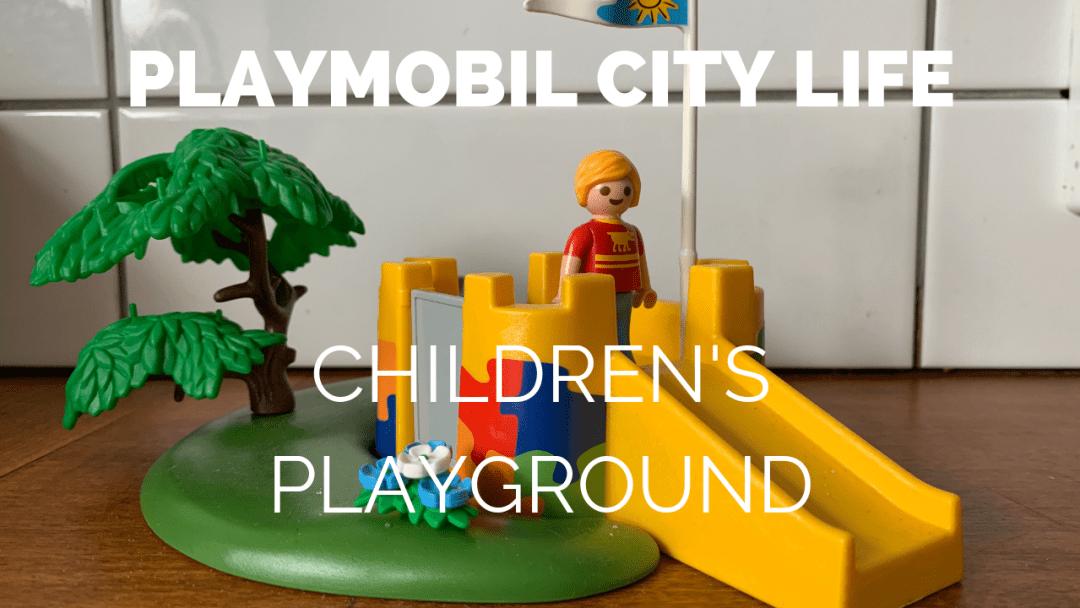 Playmobil City Life Children's Playground review