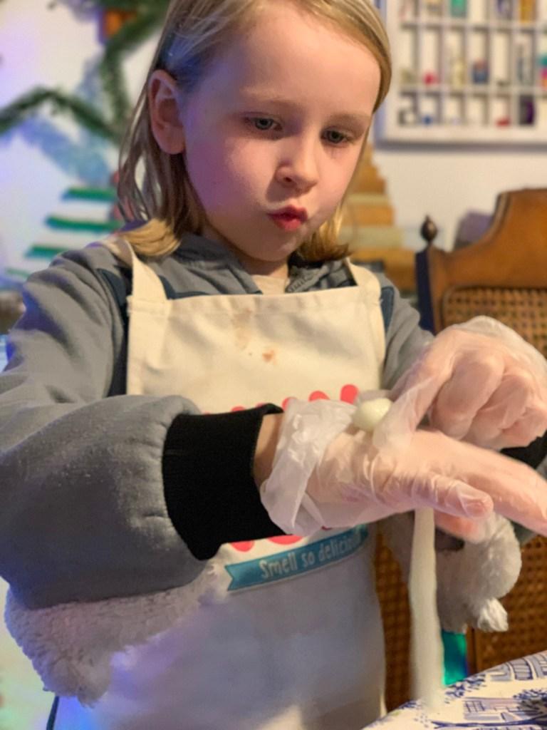 Elf Snot STEM activity for kids