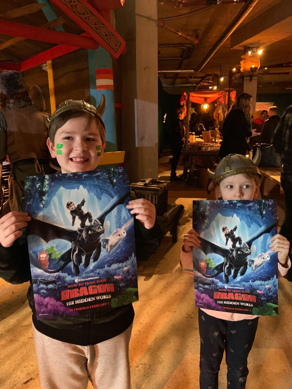 The Hidden World immersive screening London