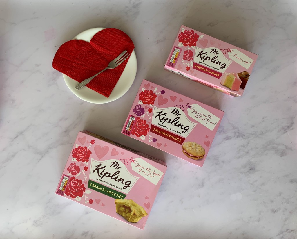 Enjoy limited edition Mr Kipling treats this Valentine's Day