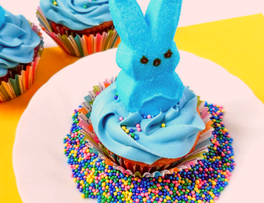 How to make Peeps Bunny Cupcakes