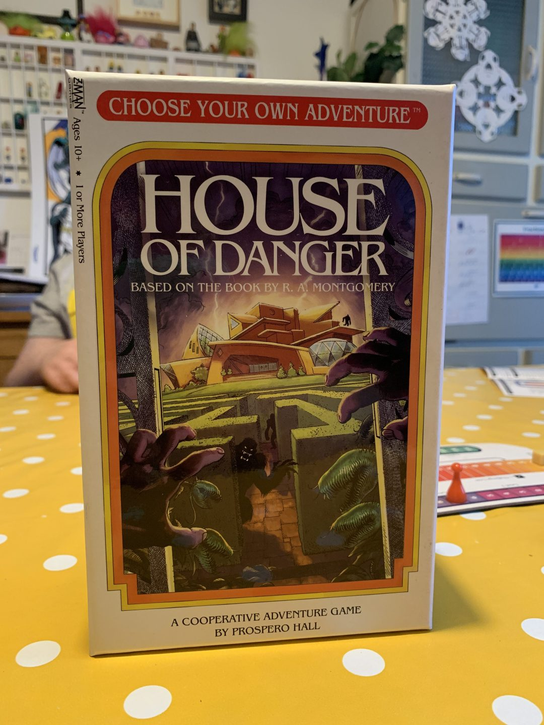 Blogger Board Game Club: House of Danger