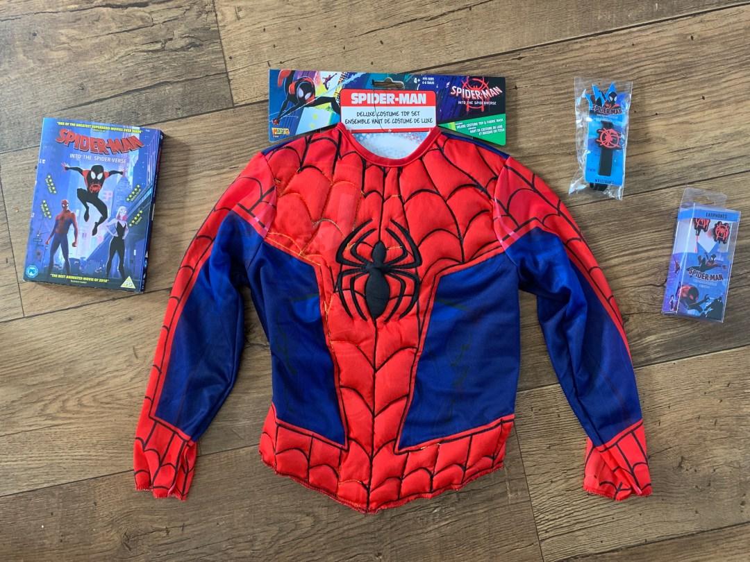 Win a Spiderman into the Spider-Verse bundle