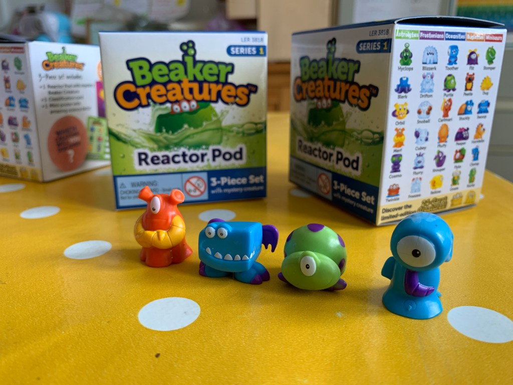 Beaker Creatures Reactor Pod review and giveaway