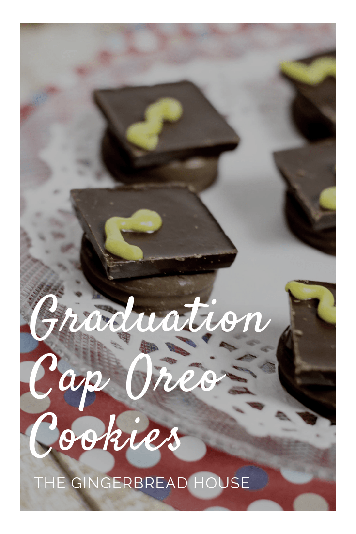 How to make Graduation Cap Oreo Cookies