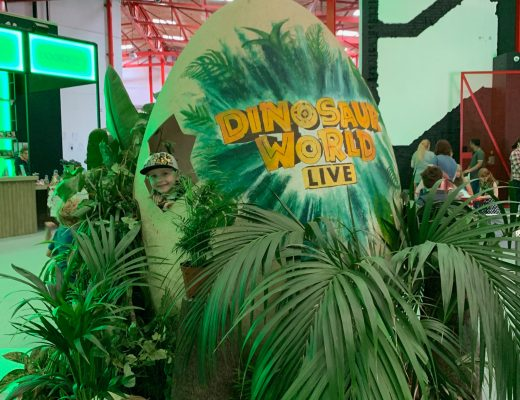 Roarsome live action with Dinosaur World Live