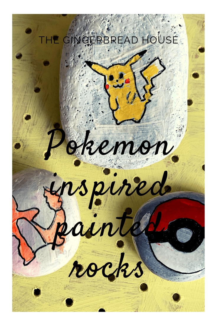 How to make Pokemon painted rocks