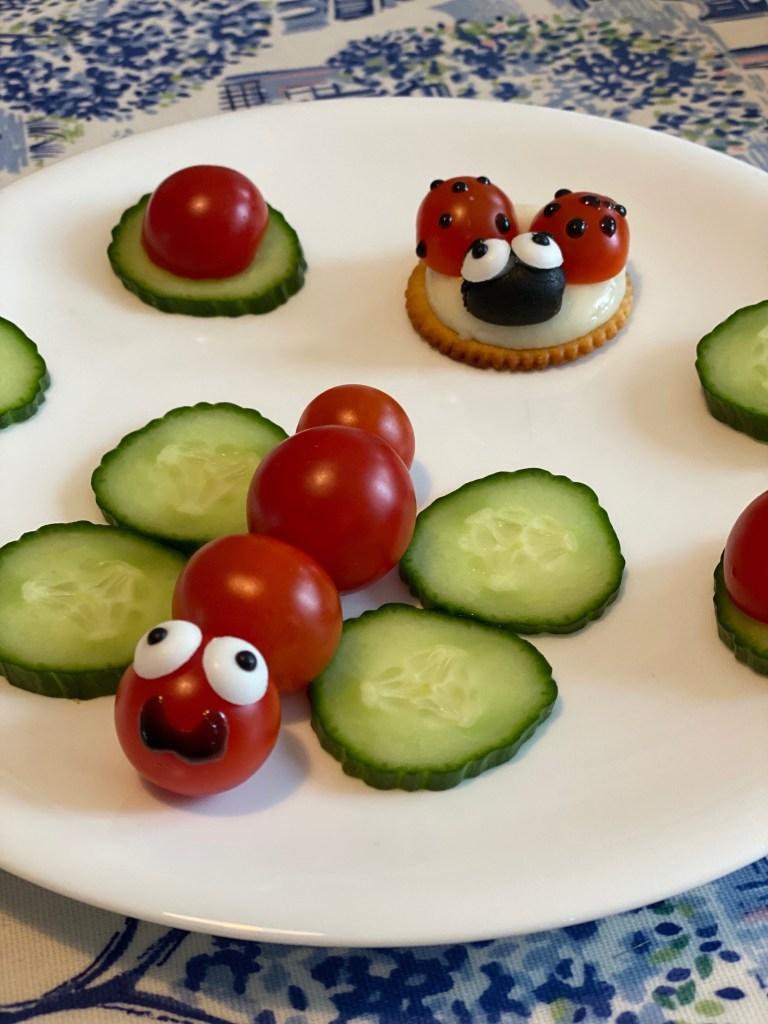 fun finger food with piccolo tomatoes