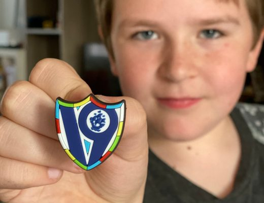 limited edition 2019 Blue Peter badge