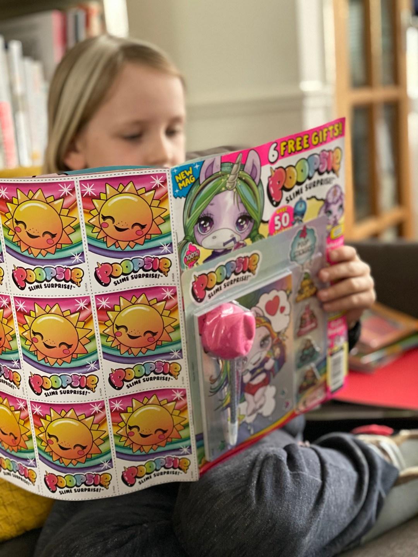 Poopsie Slime Surprise magazine