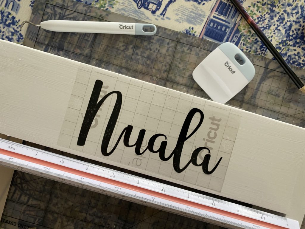 crafting with my Cricut