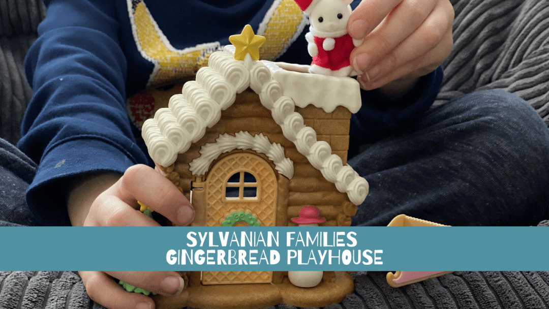 Win a Sylvanian Families Gingerbread Playhouse