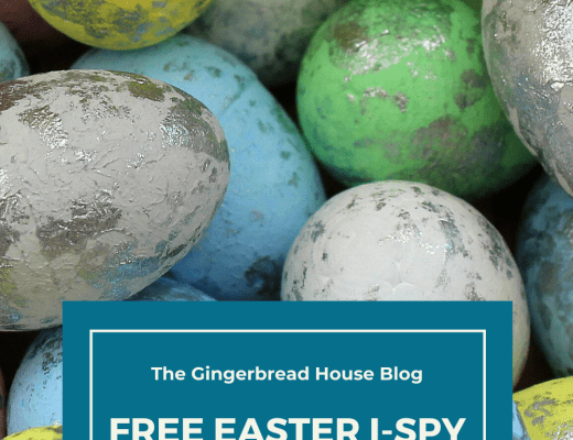 Free printable Easter i-spy activity for kids