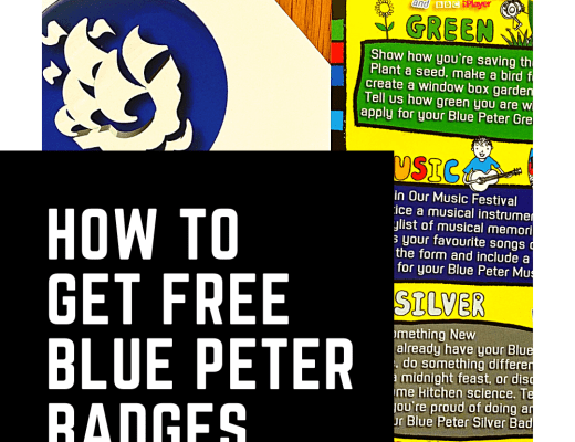 How to get free Blue Peter badges