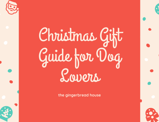 Christmas gift guide for dog lovers 2020