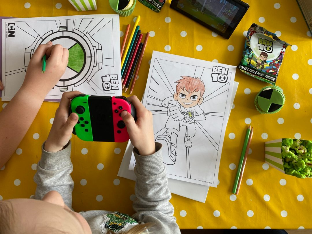 AD/Ben 10 Power Trip video game {review}