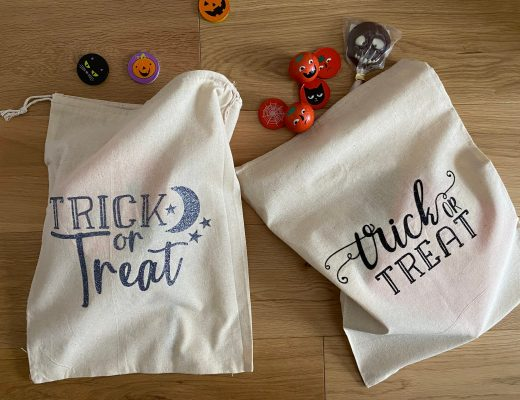 easy Cricut Trick or Treat bag