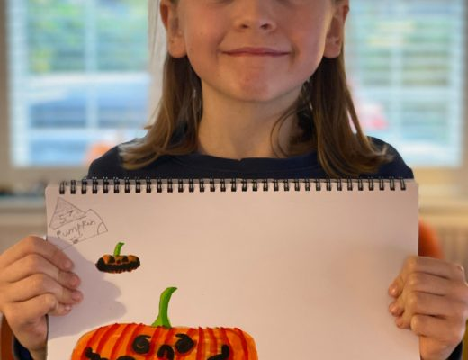 Draw with Rob pumpkin