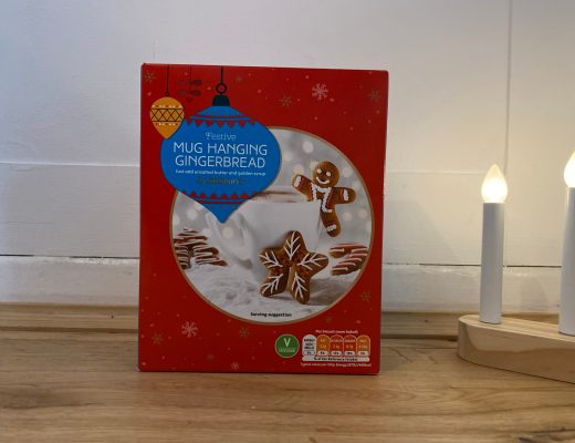 Sainsbury's Festive Mug Hanging Gingerbread kit