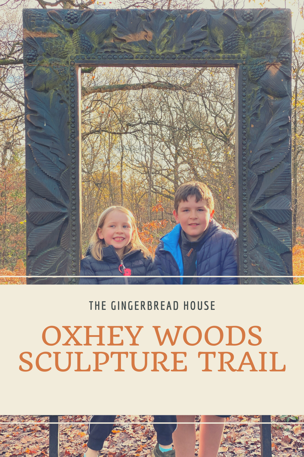 A visit to Oxhey Woods Sculpture Trail