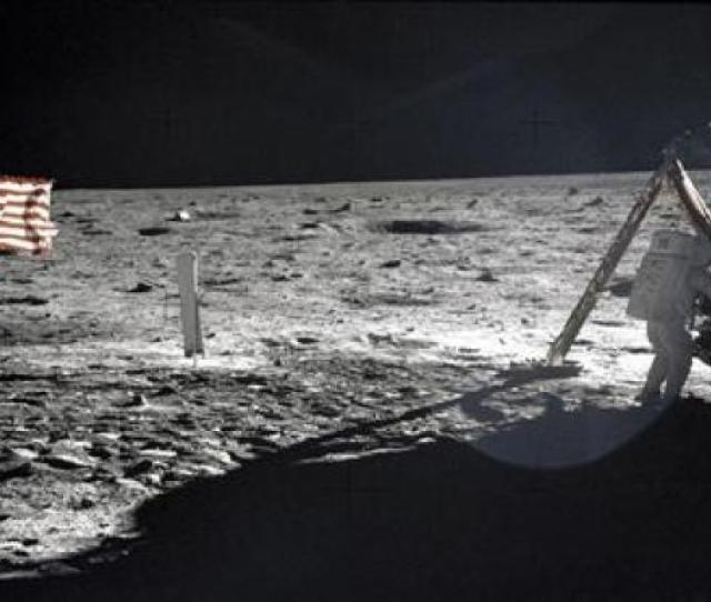 This Nasa File Image Shows U S Astronaut Neil Armstrong The Apollo  Mission Commander Standing Next To The Lunar Module Eagle On The Moon July