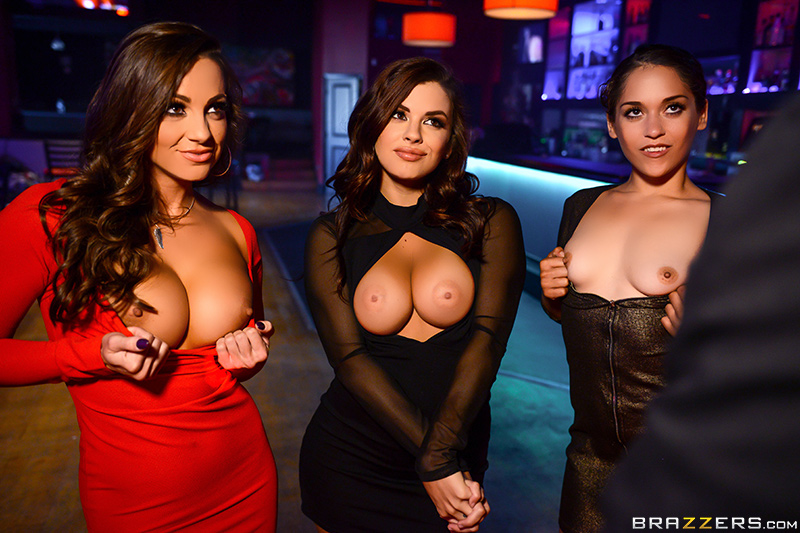 The Joys of DJing scene starring Abigail Mac Keisha Grey and Jessy Jones Threesome XXX