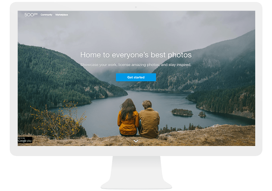 use 500px to promote your photography business online
