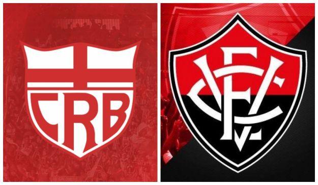 Resultado de imagem para Logo CRB x Vitória