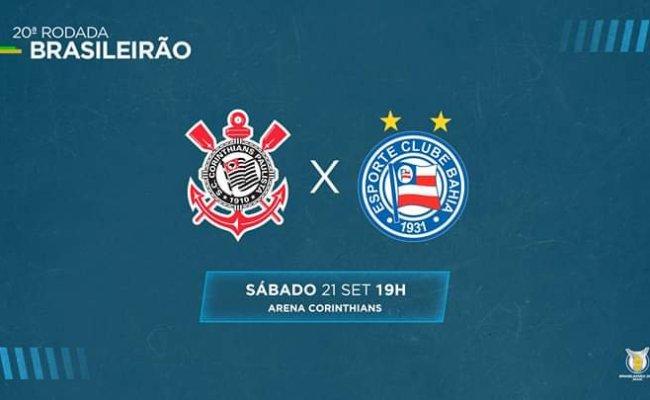 Corinthians X Bahia Saiba Como Assistir Ao Jogo Ao Vivo Na Tv