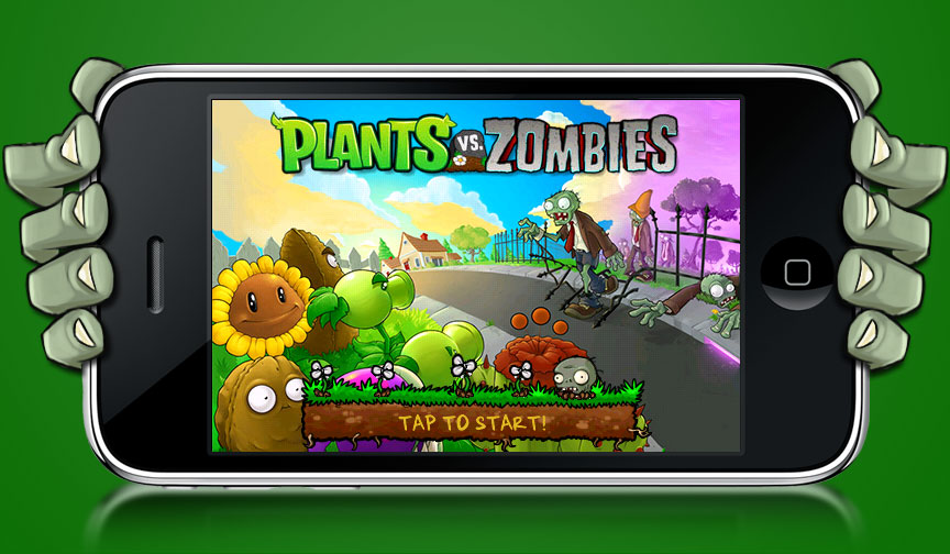 Plants Vs. Zombies for itouch/phone