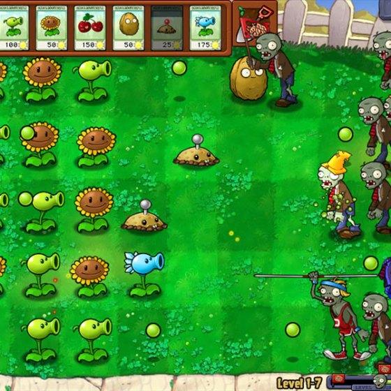 Plants vs Zombies 1