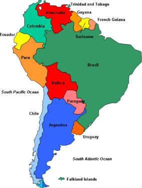 Spain Location On World Map : spain, location, world, Spanish, Speaking, Countries
