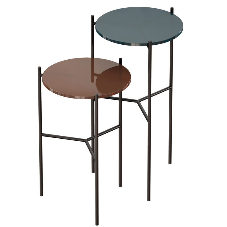 maylan painted glass end tables set of 2 crate and barrel 3d model download 3d model maylan painted glass end tables set of 2 crate and barrel
