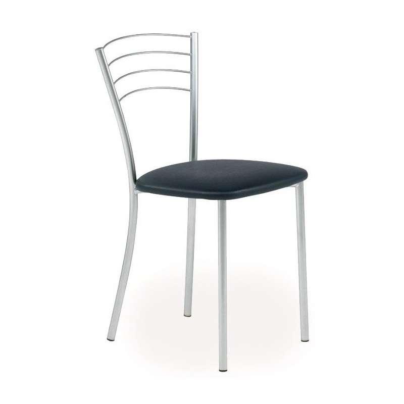 chaise de cuisine contemporaine en metal roma