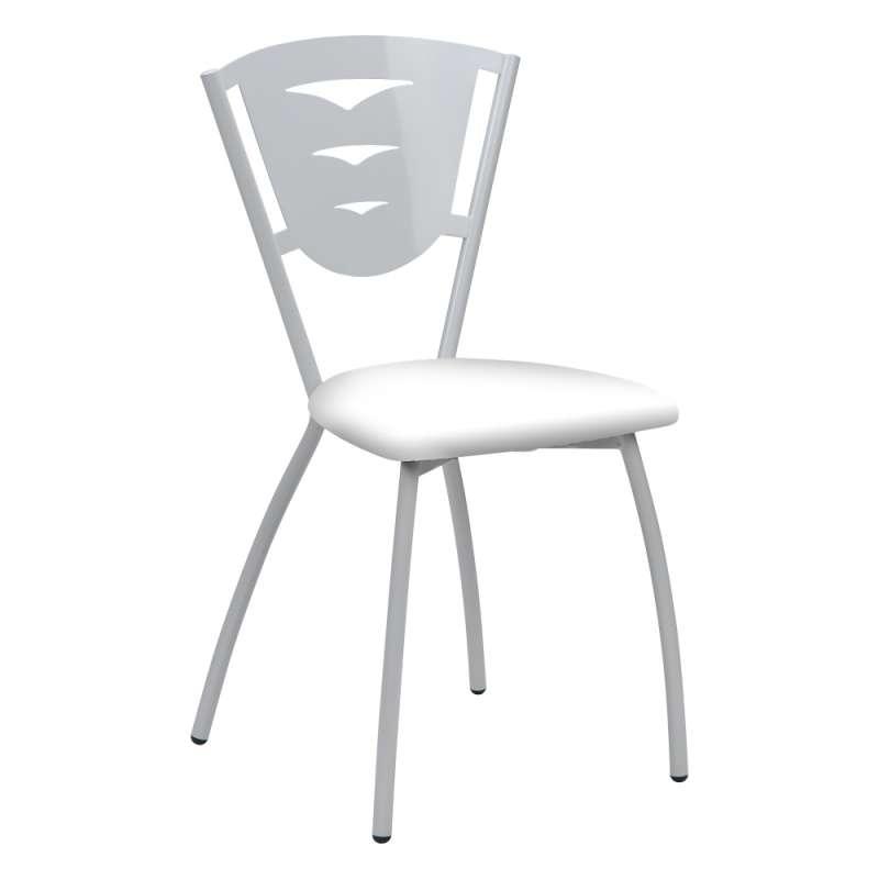 chaise de cuisine en metal fabriquee en france hevea carrier