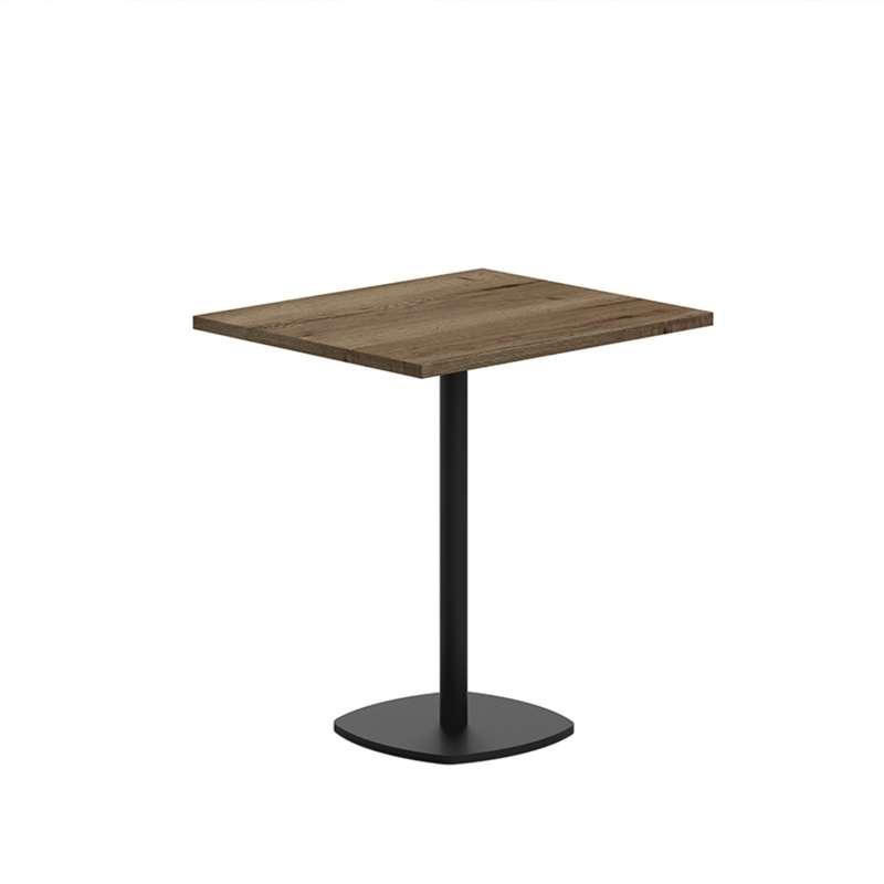 pied central de table en metal circa