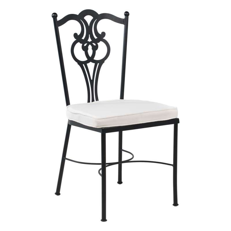 chaise de jardin provencale en acier viena