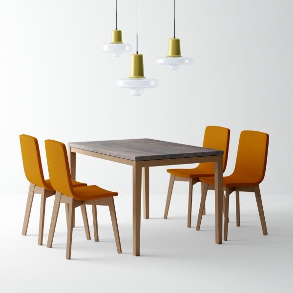 table de cuisine en ceramique avec rallonge toy bois