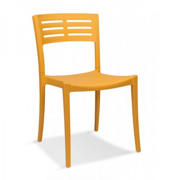 chaise de jardin empilable de fabrication francaise urban grosfillex