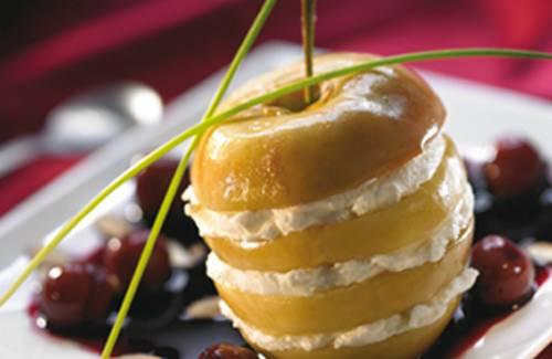 Recette Dessert Pommes Cerises 750g