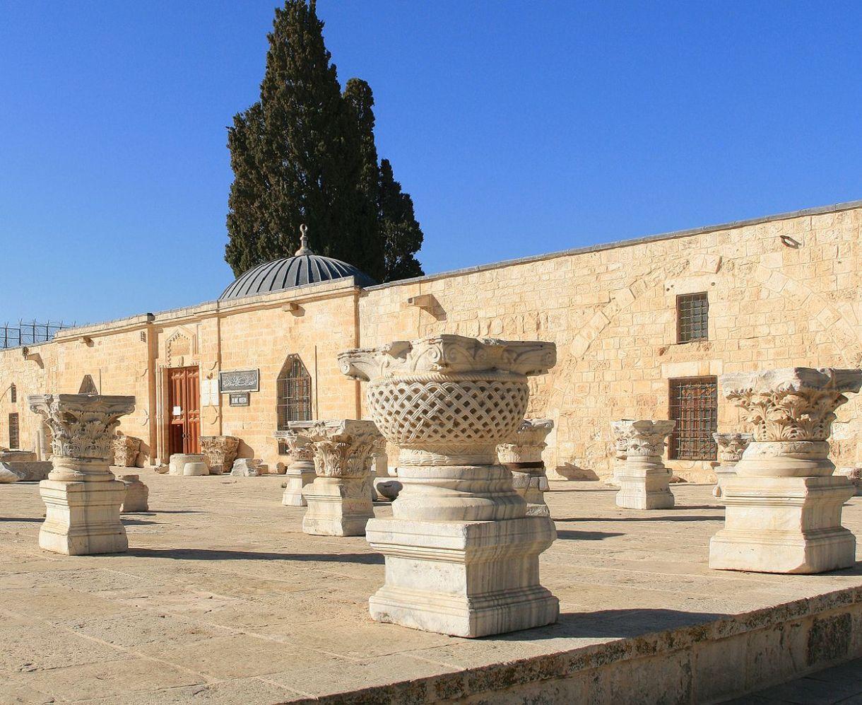 The Islamic Museum on the Haram al-Sharif/Temple Mount compound, East Jerusalem. (Ludvig14/Wikimedia Commons)