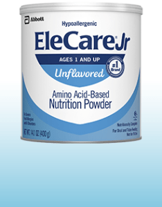 Elecare jr unflavored also hypoallergenic formula for infants with protein allergies rh