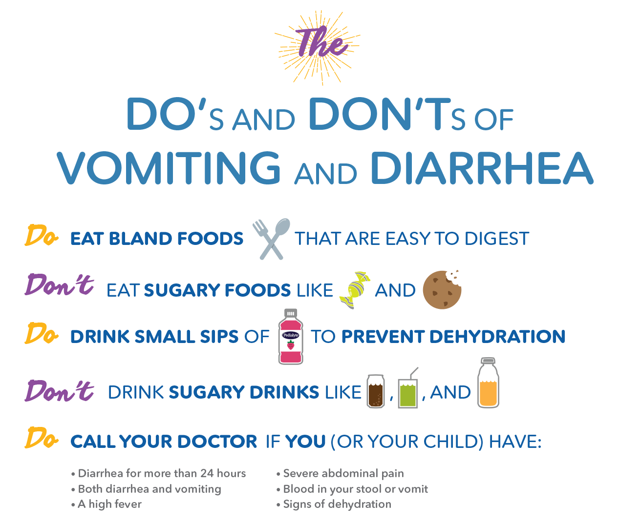 Stomach Flu Symptoms: Dehydration and Remedies | Pedialyte®