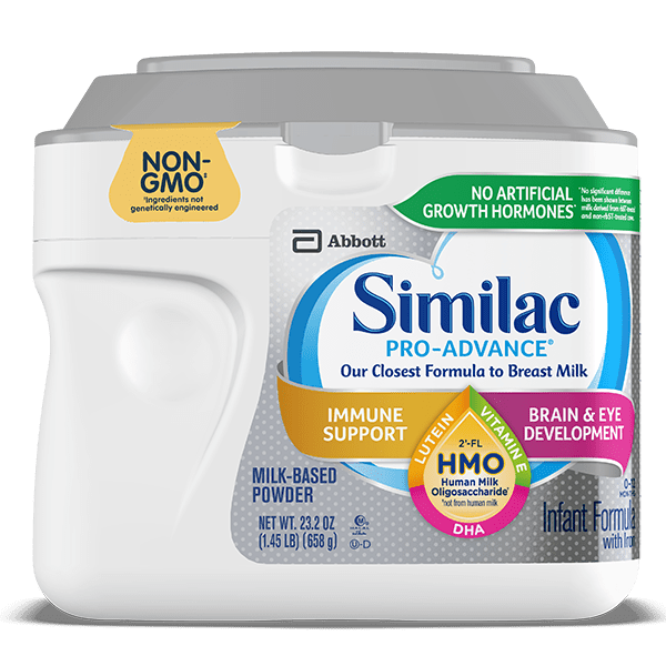 Similac Pro-Advance® | Our Closest Baby Formula to Breast Milk