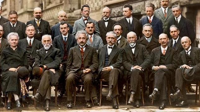 Resultado de imagen de congreso de solvay 1929