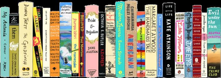 authors female books clipart club header shelf fb international jane mount illustration regulae west