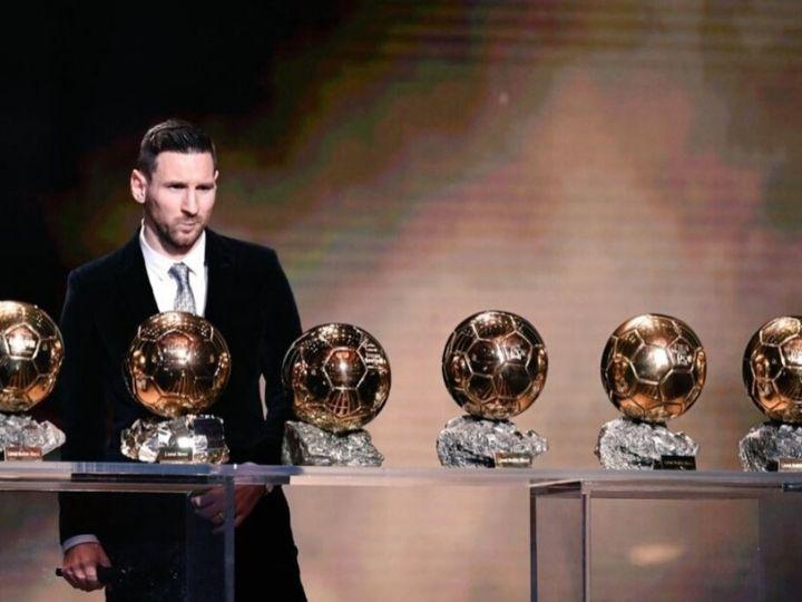 Lionel Messi Wins Record 6th Men S Ballon D Or Award