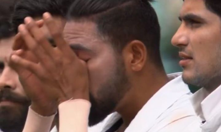 Ind V Aus, 3rd Test: Mohammed Siraj Tears Up While Singing National Anthem, Warner Departs In Rain-Marred Session