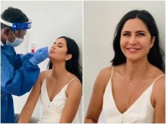Katrina Kaif ने शूटिंग से पहले कराया कोरोना टेस्ट, बोलीं- सेफ्टी पहले, देखें वीडियो