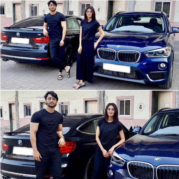 "Erica Fernandes, known for playing the role of Sonakshi on the television show 'Kuch rang Pyar Ke Aise Bhi', bought a brand new BMW car on February 1, 2017. She posted a picture with her co-star on Instagram page and wrote ""The Super Team #superhero #supergirl #supercars #bmw."" (Picture credit: Instagram- iam_ejf)"